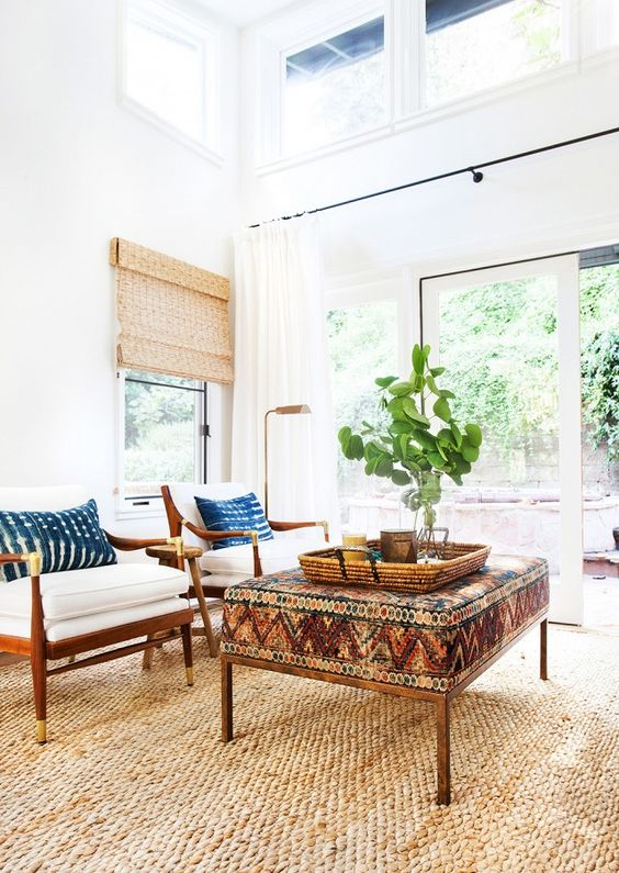Exclusive: Inside a Young Family's Eclectic California Home via @domainehome:
