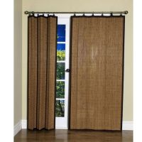 folding panel covering for sliding door or double doors ...
