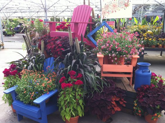 Summer Display At Al's Garden Center Of Woodburn Work Displays