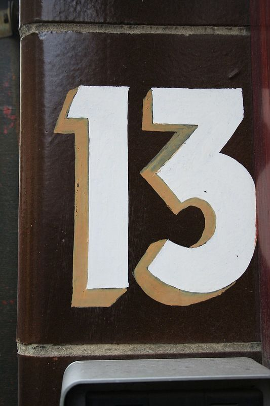 Apartment door Number 13 and Friday the 13th on Pinterest