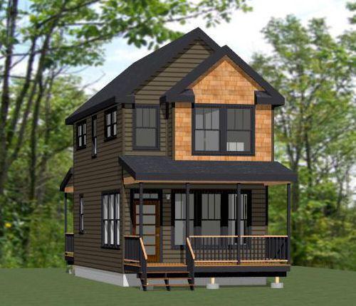 16x30 Tiny House  #16x30h11  901 Sq Ft  Excellent