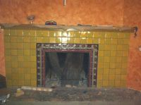 Mexican Tile in a Fireplace, Mexican Home Decor Gallery ...