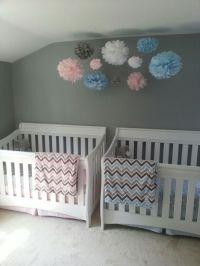 Boy girl twin nursery | Twins Nursery | Pinterest | Boys ...