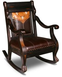 Rocking chairs, Westerns and Rustic furniture on Pinterest