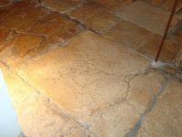 Rustic stone floor tile