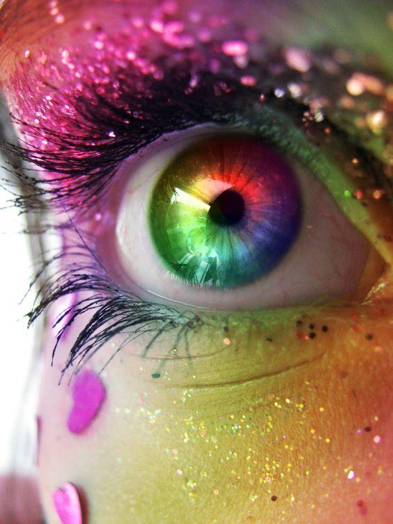 julepcolorchallenge createyourjulepcolor rainbow eye