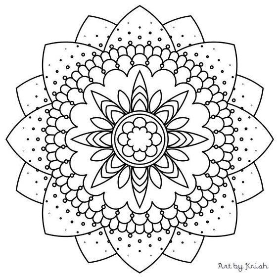 Best ideas about Pdf Mandala, Mandala Patters and Mandala