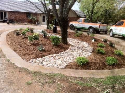 driveways islands and design