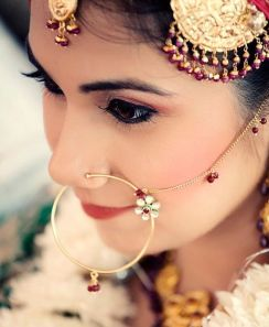 Image result for indian celebrty Nose Pin full face photography
