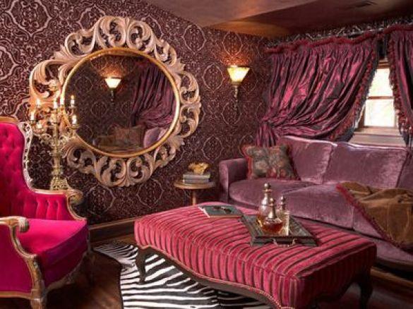 : Interiores com inspiração Vitoriana: