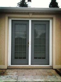 Retractable Screens on double French Door. | Retractable ...