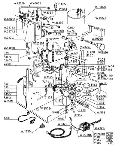 Krups Wiring Diagram