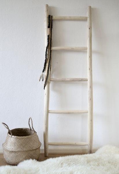 Ladder naturel Heel mooi ter decoratie of als dressboy