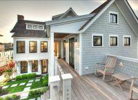 Black windows, Beach houses and Decks on Pinterest