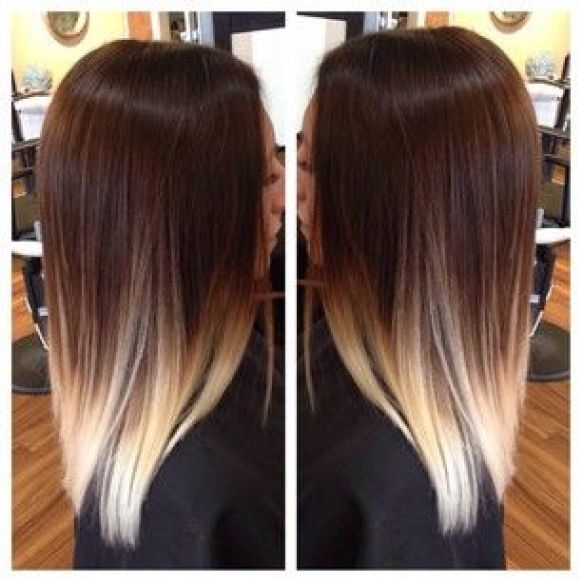 beautiful balayage ombre! #ombre #balayage #colormelt: