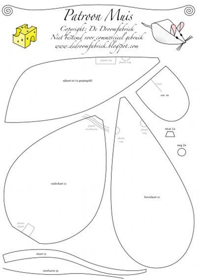 de droomfabriek : gratis naaipatronen knuffels en