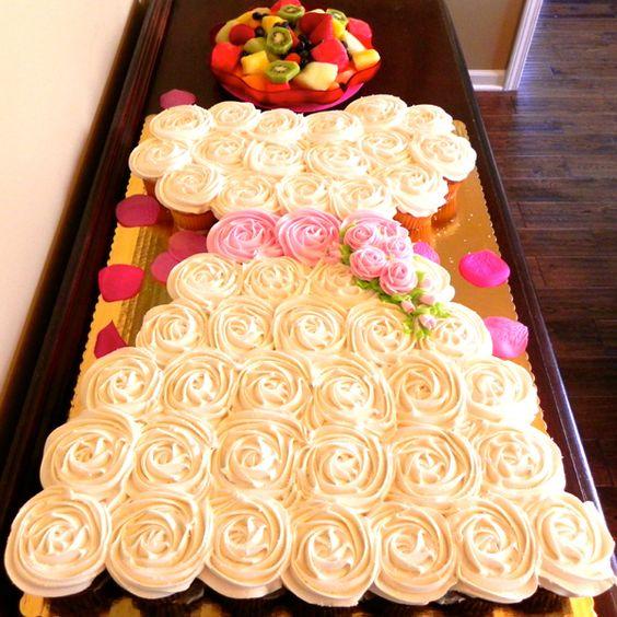 Wedding Dress Cupcake Cake 9 Perfect Wedding Dress Cupcake Cake