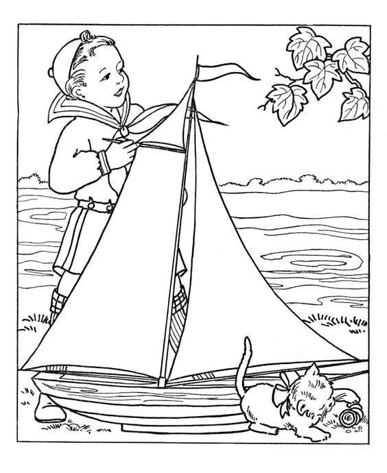 Boy Coloring Pages: http://www.activity-sheets.com