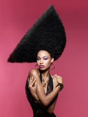 shirley gordon big black girl hair