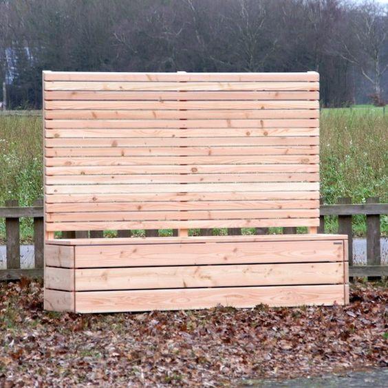 Holz Trennwand Garten – Siddhimind Info
