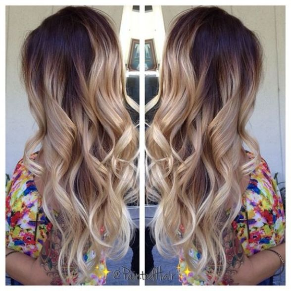 By the time my hair gets this long, ombre won't be cool anymore. But I'll dream...: