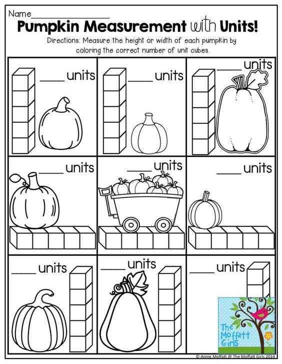Pumpkin Lap Book (kindergarten)