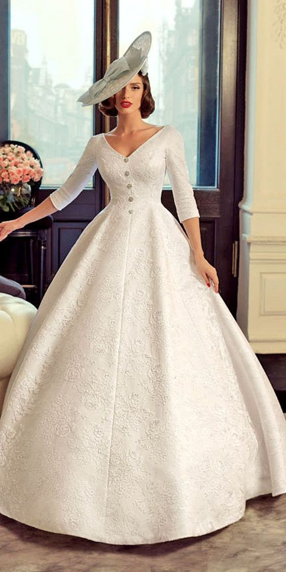 Bridal gowns Vintage portrait and 1960s on Pinterest