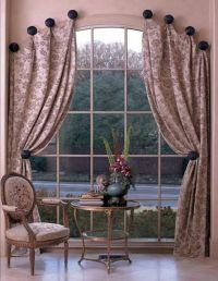 A different way to hang curtains! | Home | Pinterest ...