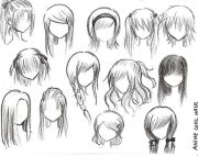 anime haare and frisuren