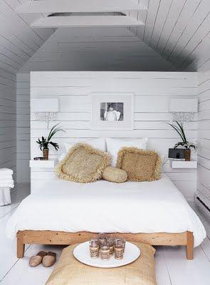 bedroom Coastal Style: Beach House Style: