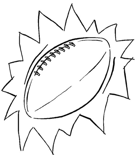 Football, Coloring pages and Coloring on Pinterest