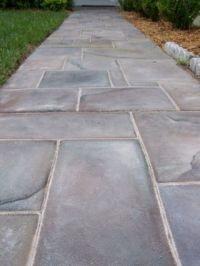 Slate walkway, Walkways and Slate on Pinterest