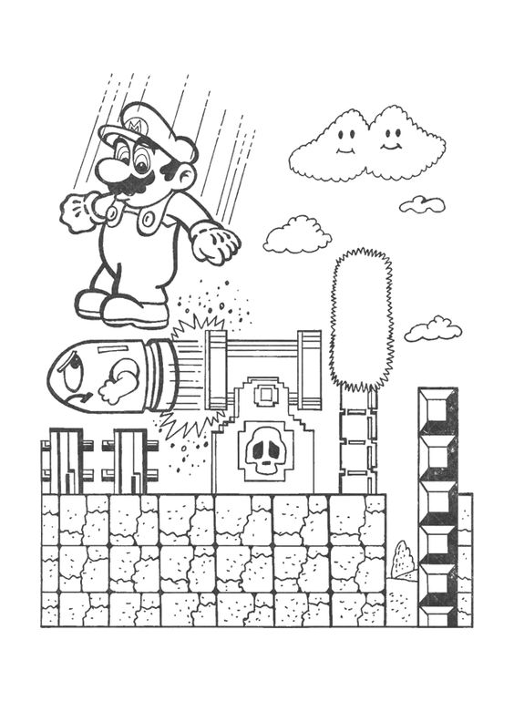 Super LikeLikes Video Game Art: Retro Mario & Bowser