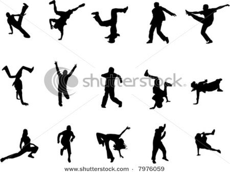Hip Hop Dance Silhouettes- add a verse, possibly for a