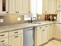 Kitchen Cabinets _ Painted Linen Bisque
