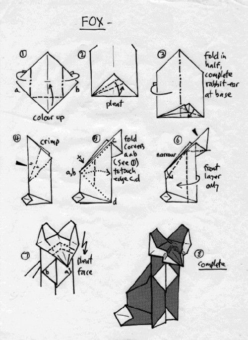 learn origami instructions and origami paper folding