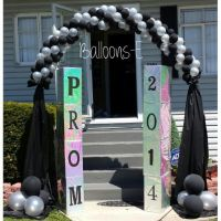 Prom ideas | Balloon Arches & Canopies | Pinterest | Prom ...