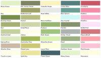 Lowes Paint Color Chart | House Paint Color - Chart, Chip ...