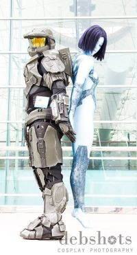 Incredible Halo cosplay at SDCC 2013. Master Chief and ...