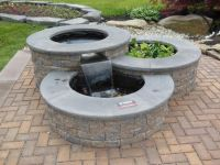 Gardens, Garden fountains and Circles on Pinterest