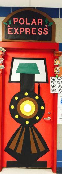 Polar Express Door Decorating Ideas - Elitflat