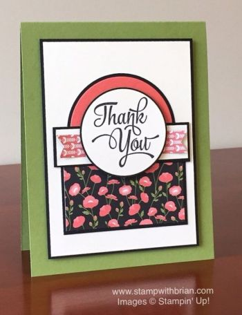 One Big Meaning, Petite Petals Designer Series Paper, Stampin' Up!, Brian King, PPA292, GDP027: