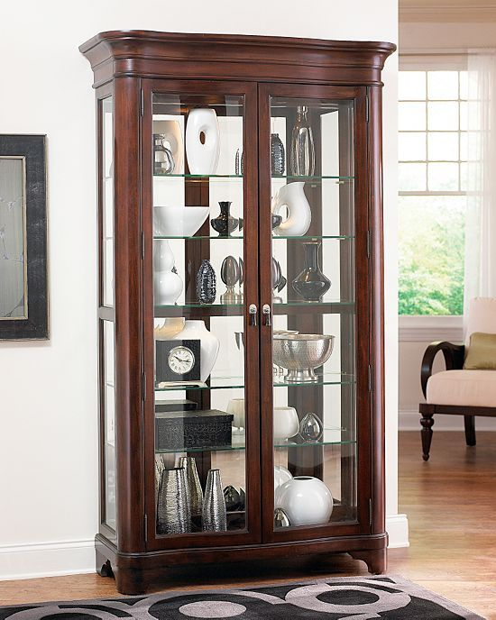 Living Rooms Sterling Heights Display Cabinet Living