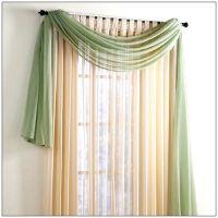 Window scarf, Scarf valance and Valance window treatments ...