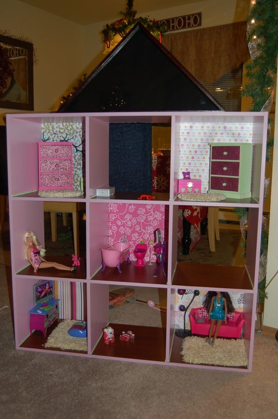 Barbie Barbie House And Doll Houses On Pinterest