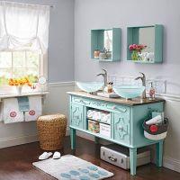 14 Ideas for a DIY Bathroom Vanity | Vanities, the ...