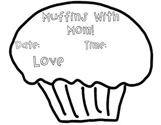 Muffins, Mom and Mother's day on Pinterest