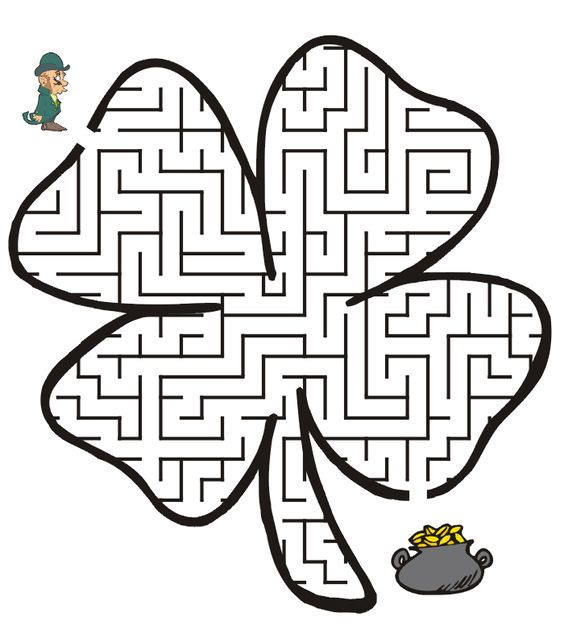 St Patrick's Day Coloring Pages and Activities for Kids