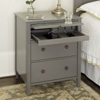 Charging stations, Side tables and Simple lines on Pinterest
