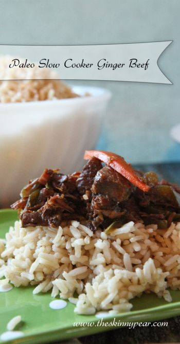 Paleo Slow Cooker Ginger Beef From In the Wild Kitchen: